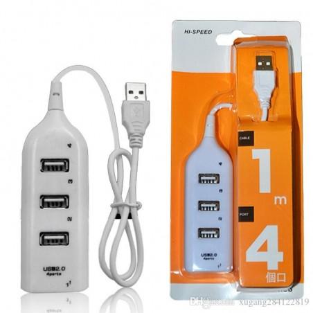 4 Port USB 2.0 480Mbps HUB...